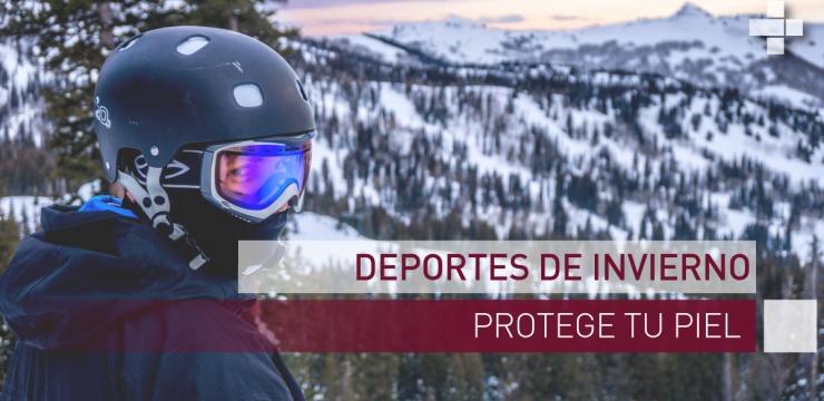 Deportes de invierno, protege tu piel