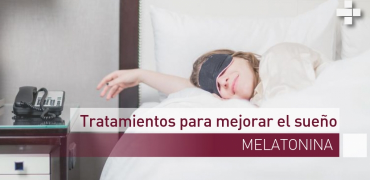 Melatonina para mejorar el sueño