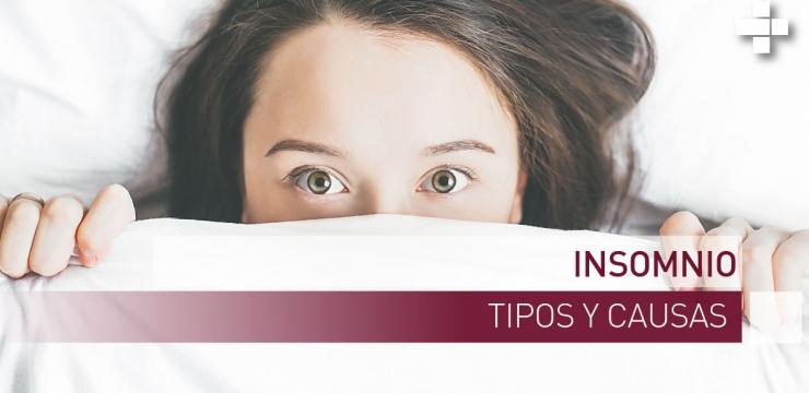 El insomnio, tipos y causas